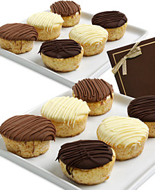 Chocolate Covered Company  12-Pc. Belgian Chocolate Dipped Mini Cheesecakes