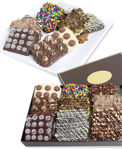 Chocolate Covered Company 12-Pc. Ultimate Belgian Chocolate Covered Graham Crackers