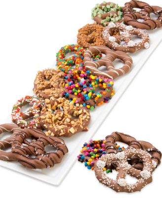 12-Pc. Ultimate Belgian Chocolate Dipped Pretzel Twist Collection