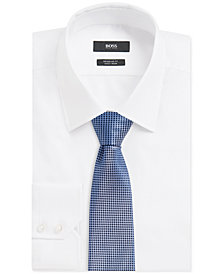 BOSS Men's Silk Embroidered Tie