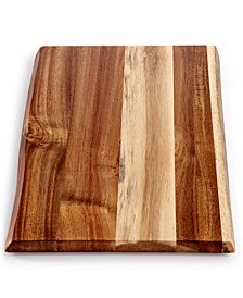 Martha Stewart Collection Natural-Edge Cutting Board, Created for Macy's
