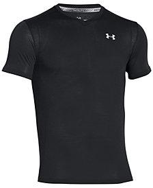 Under Armour Men's Streaker Threadborne V-Neck T-Shirt