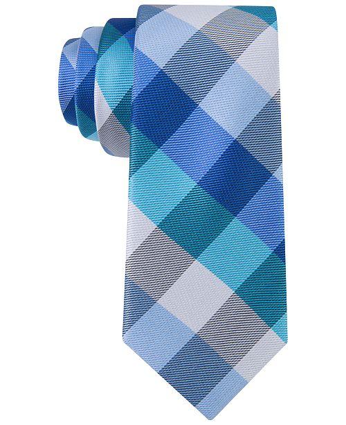 Tommy Hilfiger Buffalo Grid Tie, Big Boys