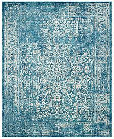 Safavieh Evoke EVK256C Blue/Ivory 3' x 5' Area Rug