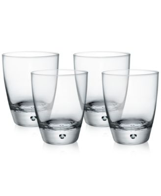 Luna Set of 4 Double Old-Fashioned Glasses