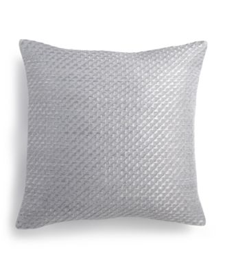 """Stepped Twill 14"""" Square Decorative Pillow"""