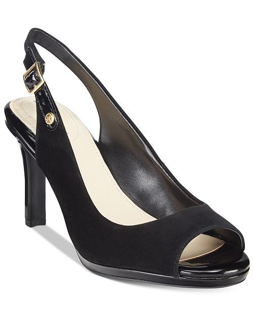 Giani Bernini Blankaa Slingback Heels, Created for Macy's