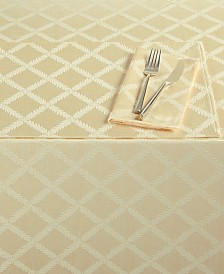 "Lenox Laurel Leaf 70"" x 104"" Rectangle Tablecloth"
