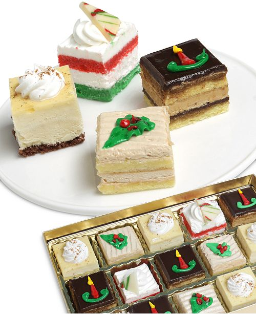 Chocolate Covered Company  Holiday Petit Fours Collection