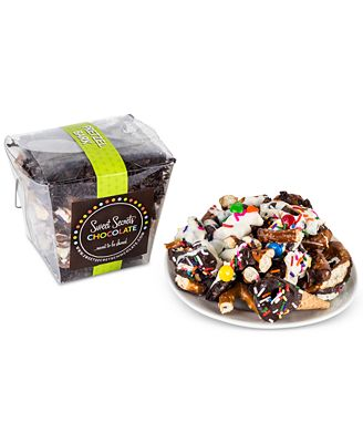 Sweet Secrets Chocolate Pretzel Bark