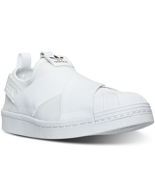 cc572b22eb ... adidas Women s Superstar Slip-On Casual Sneakers from Finish Line ...
