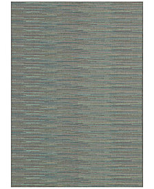 "Couristan Monaco Indoor/Outdoor Larvotto Blue-Multi 2'3"" x 7'10"" Runner Area Rug"