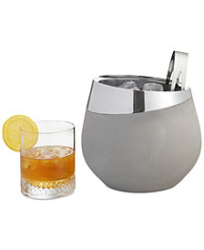 Nambé Forte Collection 2-Pc. Ice Bucket & Tongs Set