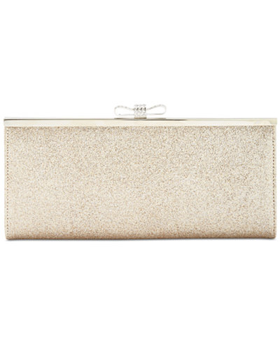 INC International Concepts Carolyn Glitter Clutch, Created for Macy's