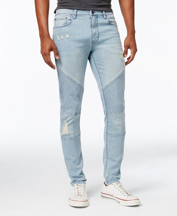 Topson Downs Topson Down Ribbed Moto Denim Pant