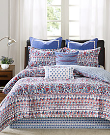 CLOSEOUT! Echo Woodstock Reversible Bedding Collection
