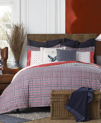 Tommy Hilfiger Timeless Plaid Bedding Collection   Bedding Collections   Bed  U0026 Bath   Macyu0027s