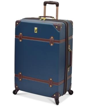 "London Fog Retro 28"" Expandable Spinner Suitcase"