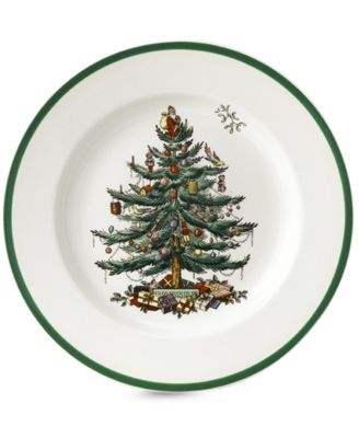 christmas tree bread butter plate - Chicago Christmas Tree Recycling