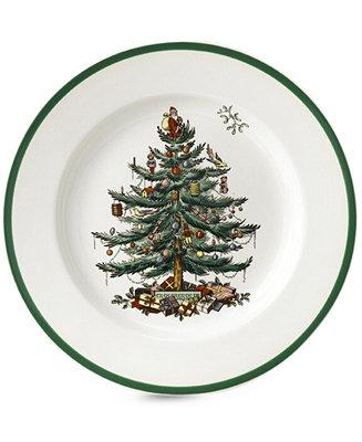 Spode Dinnerware Christmas Tree Salad Plate Fine China
