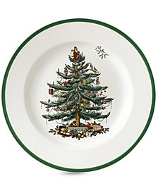 Spode Dinnerware, Christmas Tree Salad Plate