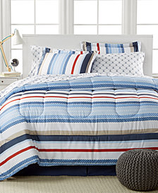 Highline 8-Pc. Reversible Bedding Ensemble, Created for Macy's