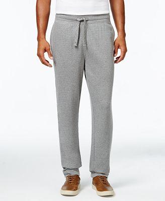 Cutter & Buck Men's Big and Tall Gleann Terry Sweatpants