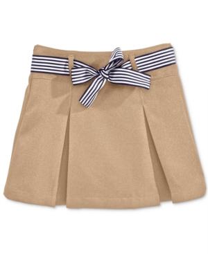 Nautica School Uniform ContrastRibbon Scooter Skirt Big Girls Plus