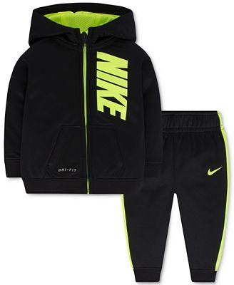 Nike Baby Boys' 2-Pc. Zip-Up Hoodie & Pants Set