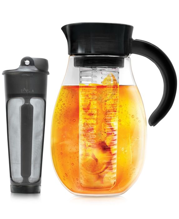 Primula Flavor Up 2.7-Qt. Pitcher with Cold Brew Core and Flavor Infuser