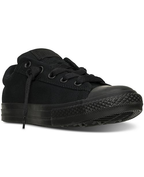0da3d52bfa1424 ... Converse Boys  Chuck Taylor All Star Street Ox Casual Sneakers from  Finish ...