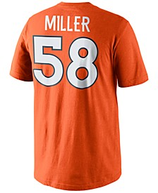 Men's Von Miller Denver Broncos Pride Name and Number T-Shirt
