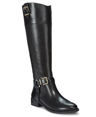 INC International Concepts Women's Fedee Wide-Calf Tall Boots ...
