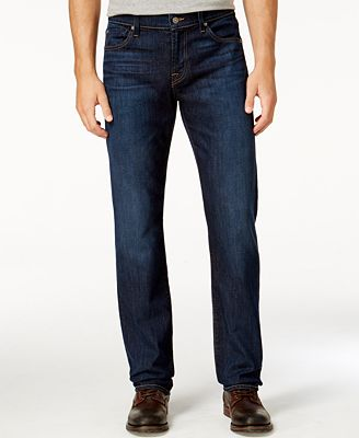 7 For All Mankind Men's Standard-Fit Manchester Fields Jeans ...