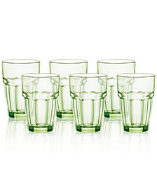 Bormioli Rocco Rock Bar Set of 6 Highball Glasses