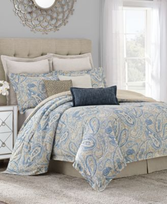 savannah home sakura paisley california king comforter set - Cal King Comforter Sets
