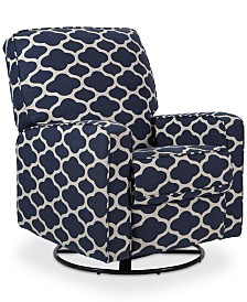 Irene Swivel Glider Recliner, Quick Ship