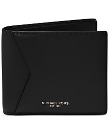 Michael Kors Men's Bryant Cavallo Leather RFID Billfold