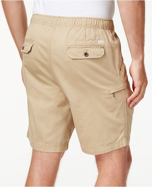 9beffc9cd1 IZOD Men's Elastic Waist Cargo Shorts & Reviews - Shorts - Men - Macy's