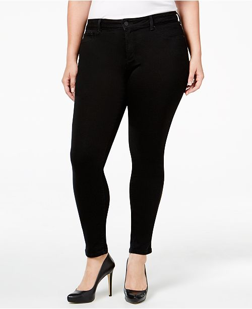 0e2e5ca608b ... Jessica Simpson Trendy Plus Size Kiss Me Super-Skinny Jeans ...