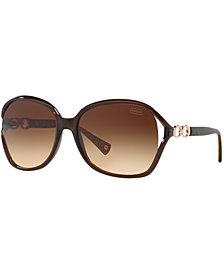Coach Sunglasses, HC8018 60 NATASHA