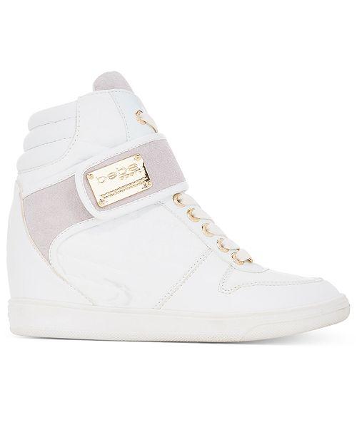 c47ba006f40d bebe Sport Colby Wedge Sneakers   Reviews - Sneakers - Shoes - Macy s
