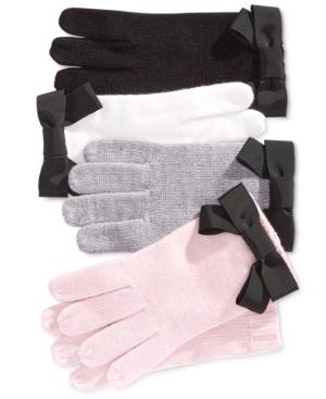 Vintage Gloves – Styles from 1900 to 1960s kate spade new york Grosgrain Bow Gloves $48.00 AT vintagedancer.com