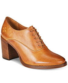 Patricia Nash Anna Block-Heel Oxfords