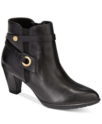 Anne Klein Chelsey Zippered Booties