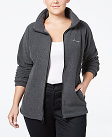 Columbia Plus Size Benton Springs Fleece Jacket