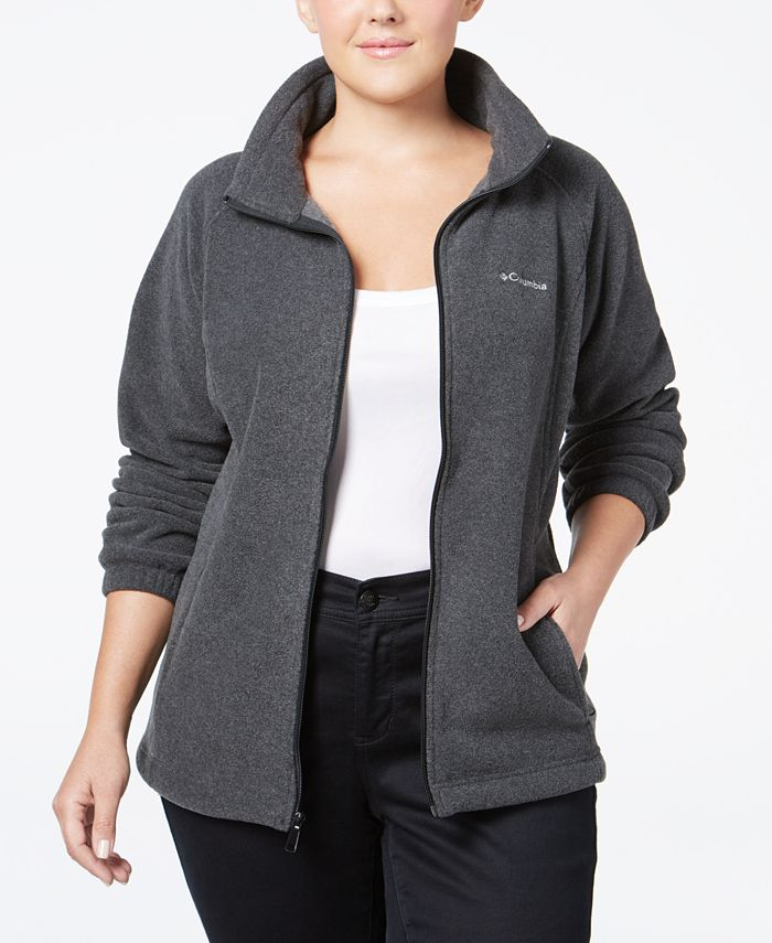 Columbia - Plus Size Benton Springs Fleece Active Jacket