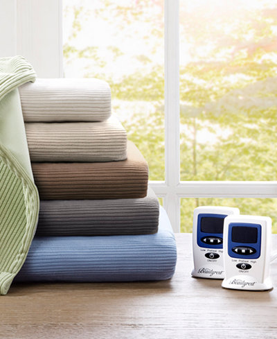 Beautyrest Knit Micro-Fleece Heated Blankets
