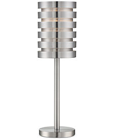 Lite Source Metal Aluminum Table Lamp