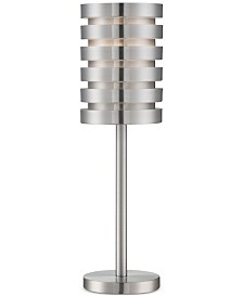 Lite Source Metal Aluminum Table Lamp